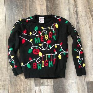 Light up Christmas Sweater! (Medium / 7-8) EUC